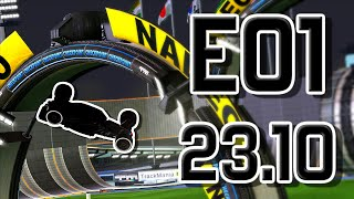 [TAS] E01-Obstacle in 23.10 (-20.47) by JaV & igntuL & ins