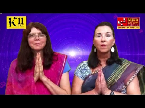 Mahanaad Yog in USA : Janet & Mindy Are Ready For Chanting Om