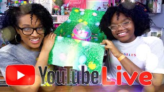 YouTube LIVE with The Froggys   Big Easter Surprise from Mattel   Q&A   Fan Mail