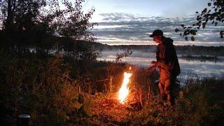Рыбалка на озере обустраиваюсь на новом месте 339