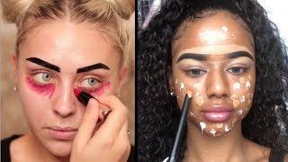Os Melhores Tutoriais de Maquiagem das Gringas💜 #169 💕 Cheias de Charme Tutoriais