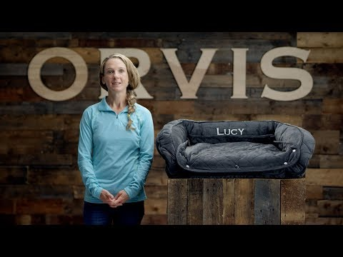 orvis---memory-foam-bolster-bed-with-snap-off-pads