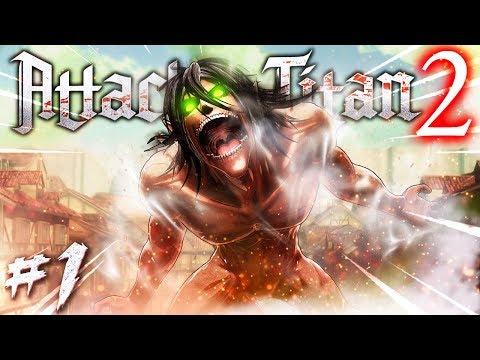 UN NUOVO PROTAGONISTA - Attack On Titan 2 PS4 ITA #1