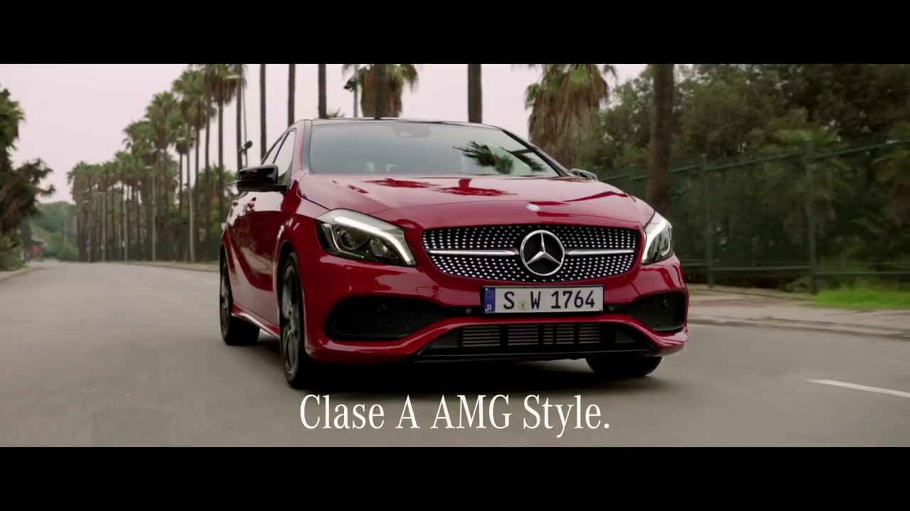 mercedes benz clase a amg style 30s youtube. Black Bedroom Furniture Sets. Home Design Ideas