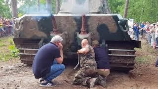 King Tiger, Engine start up, Militracks 2018