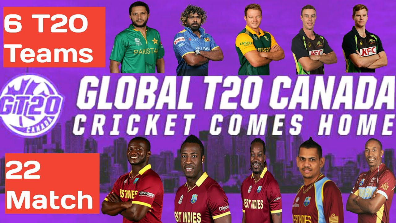 Image result for Global T20 Canada, 2018