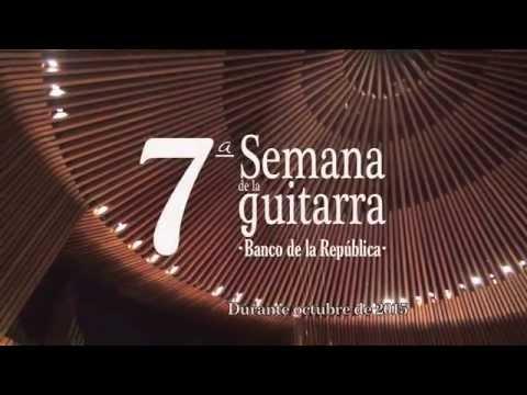7a Semana de la Guitarra - Banco de la República