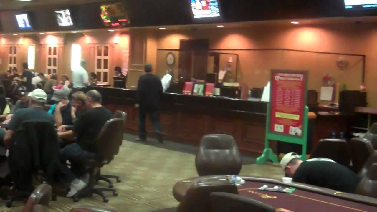 Orleans Casino Poker Room Las Vegas - YouTube