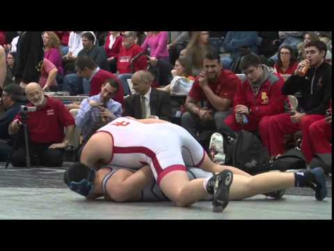 NonPublic A Finals: Christian Jenco of Bergen Catholic pins Ryan Lynd of St. Augustine, 220lb