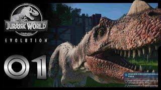 Das Lets Play findet einen Weg! |Jurassic World Evolution #01