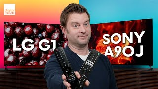 LG G1 OLED vs. Sony A90J OLED | Epic OLED Battle