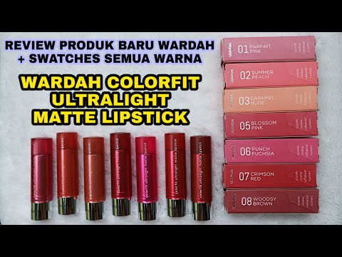 baru-!!-wardah-colorfit-ultralight-matte-lipstick-|-cocok-di-kulit-sawo-matang-|-aullya-official