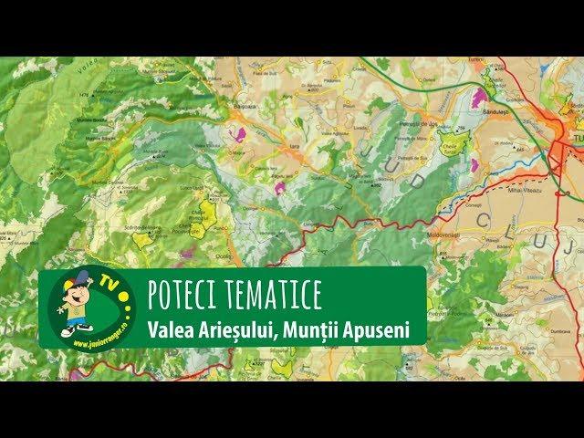 Poteci tematice pe Valea Arieșului (2014-2017)