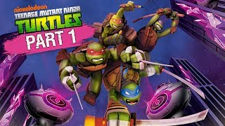 Nickelodeon's Teenage Mutant Ninja Turtles for Nintendo Wii. Part 1