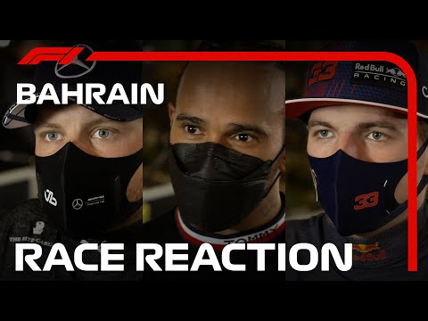 The Drivers' Post-Race Reaction | 2021 Bahrain Grand Prix