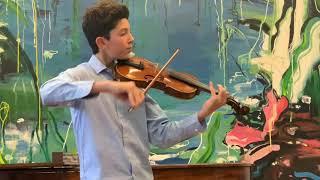 Seitz  Concerto No. 5 mvt 1