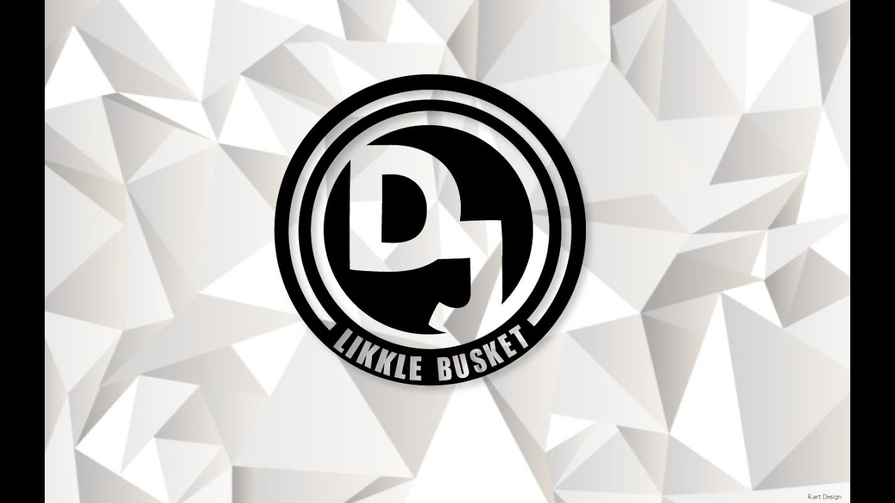 Copy of DJ BUSKET LOGO DESIGN ILLUSTRATOR ( Re upload) - YouTube