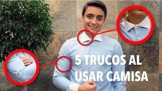5 secretos para LUCIR PERFECTO usando camisa   Humberto Gutiérrez