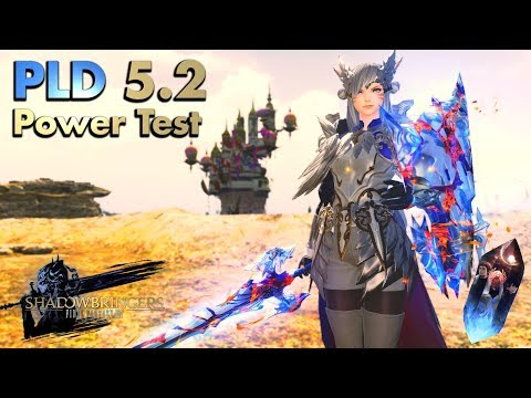 FFXIV - 5.2 Paladin/PLD Power Test - Ilvl 480 (Versatile And Strong)
