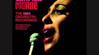 Carmen McRae - Blame It On My Youth