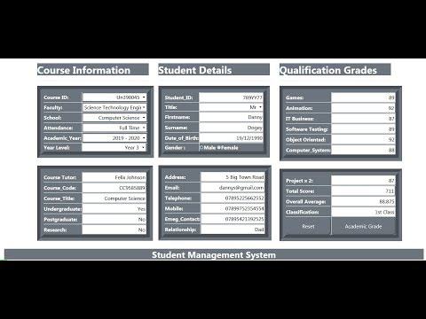 How To Create A Student Management System Using JavaScript, MySQL, PHP, And HTML - Full Tutorial