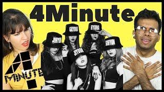 British Boys & Girls React To 4Minute #BRITAINREACTS #4MINUTE #HYUN...