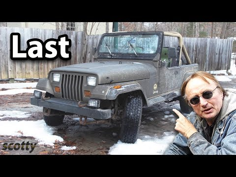 The Last of the Great Jeep Wranglers