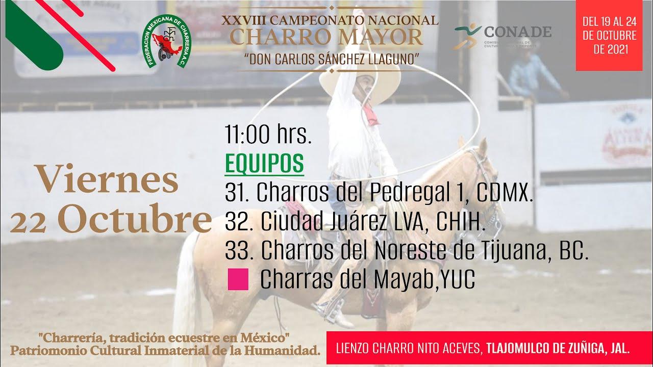 """Download XXVIII Campeonato Nacional Charro Mayor """"Don Carlos Sanchez Llaguno"""""""