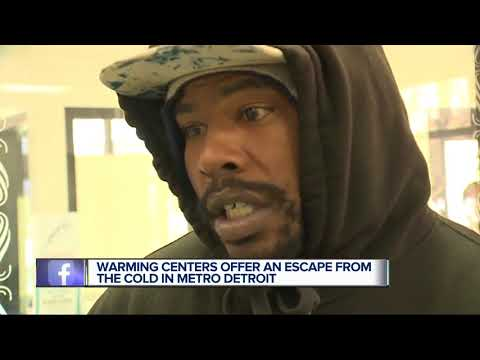 Warming Centers offer an escape from the cold in metro Detroit