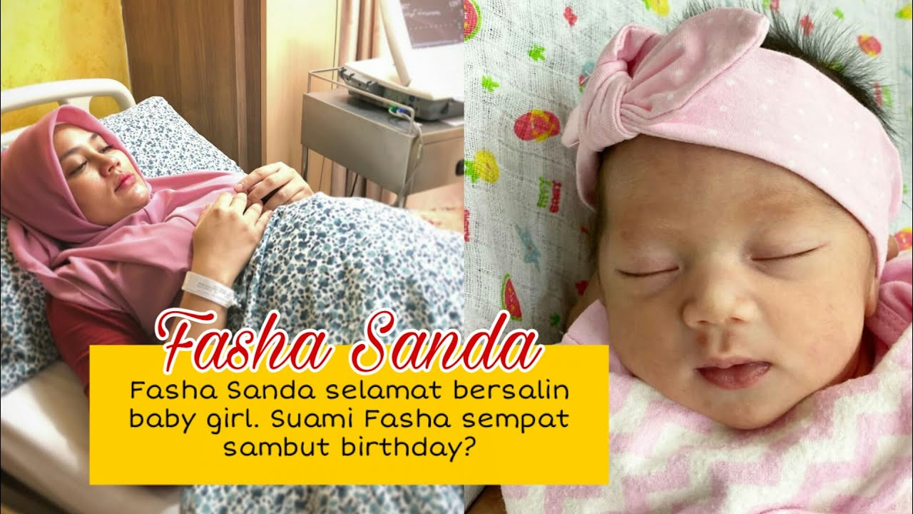 Fasha Sanda Selamat bersalin bby girl. Aidil sambut hari lahir?