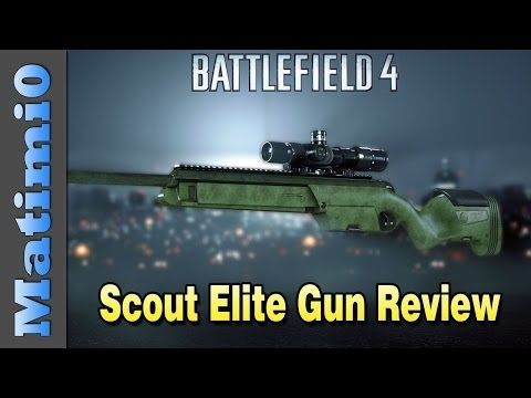 Scout Elite Weapon Review - Worst Sniper Rifle? - Battlefield 4