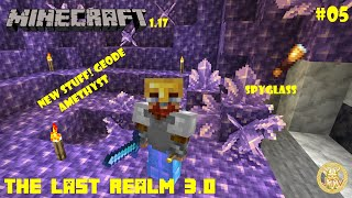 The Last Realm 3.0 – 05 – Geode and nether trip!
