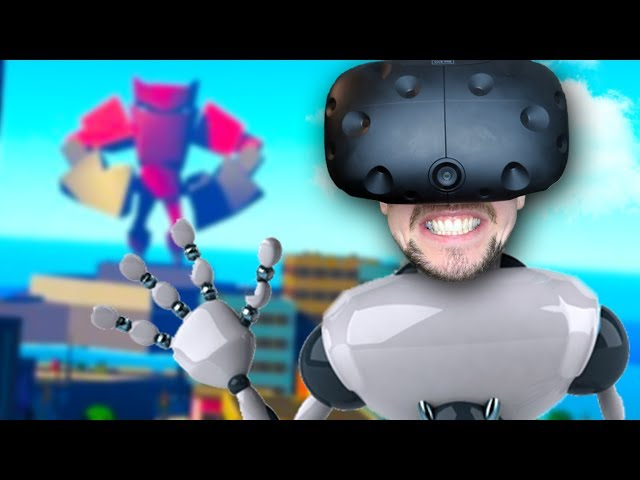 DESTROY EVERYTHING | VRobot (HTC Vive Virtual Reality)