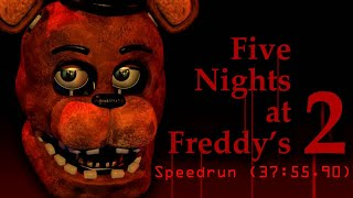 Five Night at Freddy's 2 1-Star Speedrun (37:55.90)