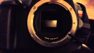 How to Clean a Sensor on The Canon EOS Rebel T3/1100D Sensor(So i had this on my other channel and am probably going to delete it. So if you have any questions please feel free to ask. Like, share, and subscribe!, 2014-09-14T16:33:50.000Z)