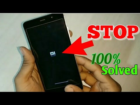 Xiaomi Redmi note 3 stop in logo| Problem Solved |100% working