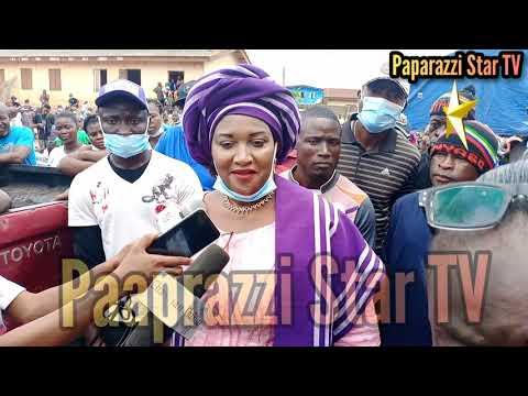 The APC LGA Primary in Ikorodu Aarebirin Hon Princess Folashade Olabanji Oba Excercise Her political