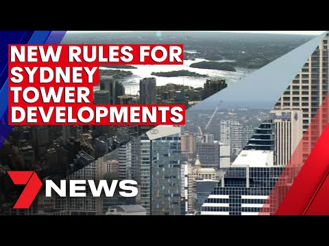 Sydney council accused of going 'bonkers' with new rules for tower developments | 7NEWS