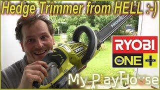 Awesome Ryobi ONE+ 18V Hedge Trimmer - OHT1855R - 380
