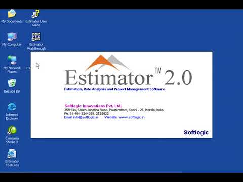 Starting Estimator 2.0  How To Use Estimator 2.0 Estimate Of A Building Estimator 2.0 Lesson1