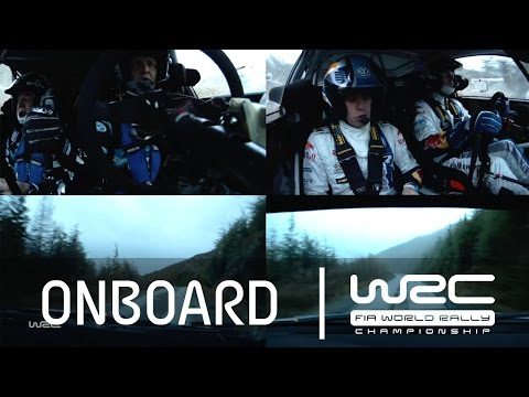 WRC Wales Rally GB 2014: Hirvonen Vs. Latvala/ Onboard SS02