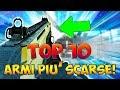 TOP 10 ARMI PIÙ SCARSE PEGGIORI NELLA STORIA DI CALL OF DUTY COD Multiplayer ITA mp3