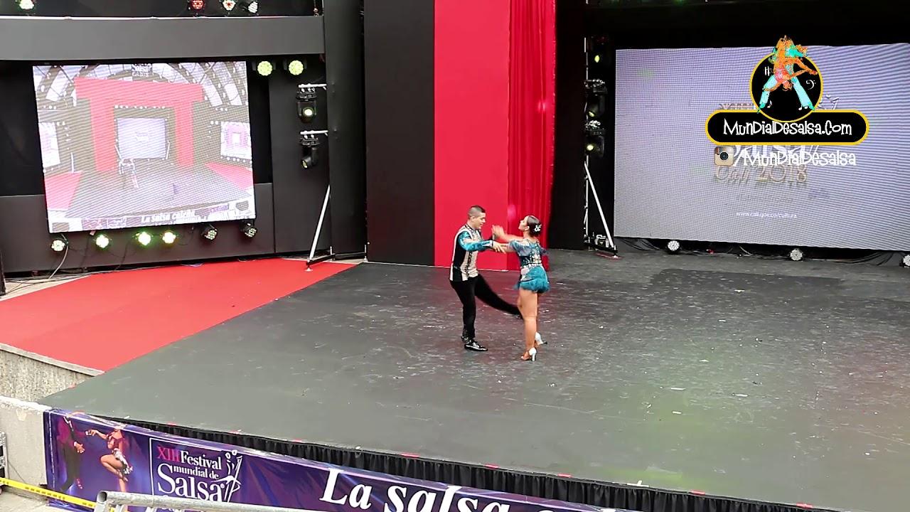 Jorge Eliecer García y Melanny Galeano - XIII Festival Mundialdesalsa Cali 2018
