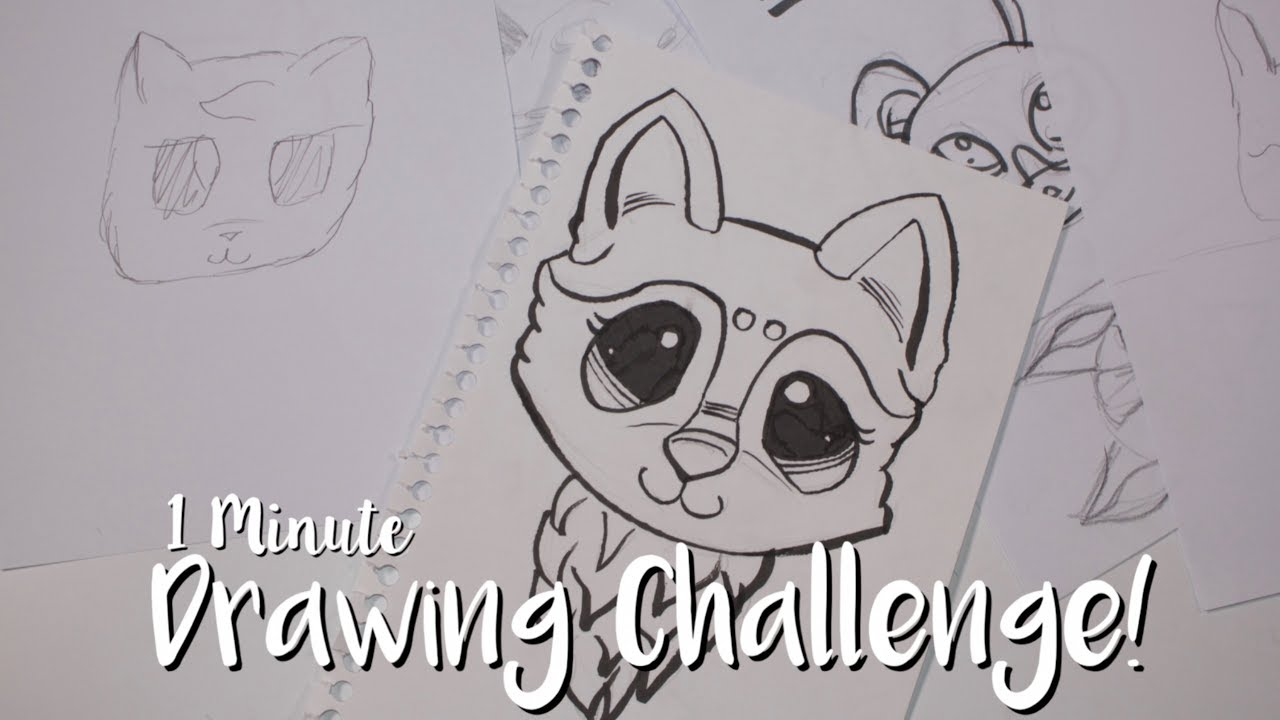 The Line Art Challenge : Lps minute drawing challenge youtube