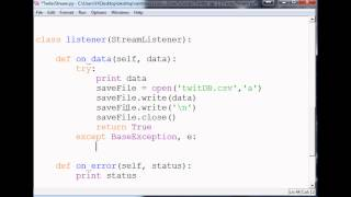 saving tweets how to use the twitter api v11 with python to stream tweets