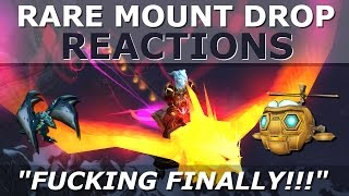 17 Rare WoW Mount Drop Reactions in World of Warcraft