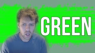 holy sh t it s green