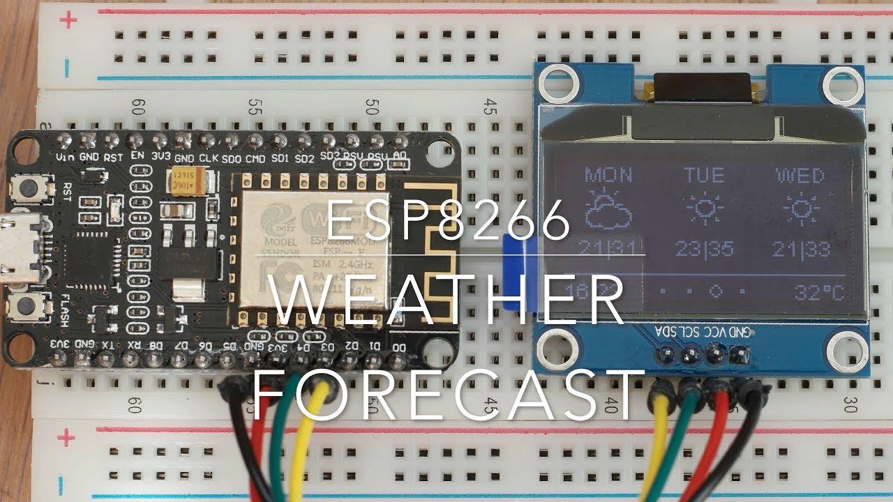 ESP8266 weather station