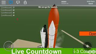 ROBLOX STS-3 Launch Part 2