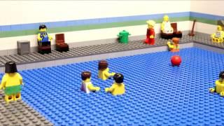 Лего мультик бассейн.